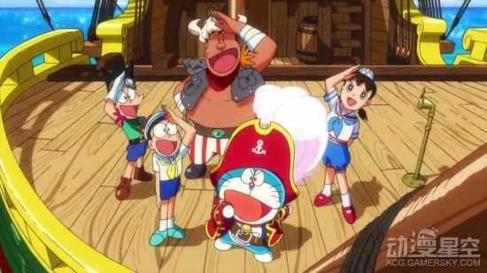 动画《哆啦A梦:大雄的宝岛》剧场版最新预告图透: