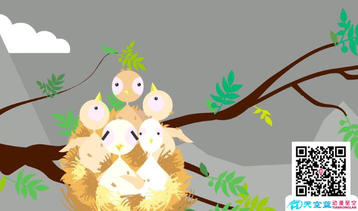 娱乐搞笑动画制作《笨鸟先飞》