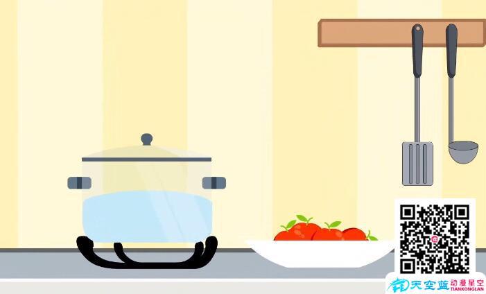 动画制作《4种水果加热吃的好处》