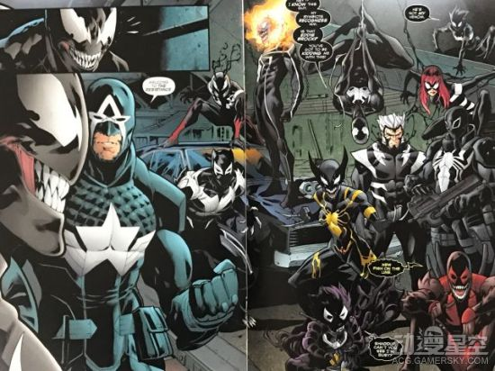 《毒药屠杀漫威宇宙》公布 小虫美队灭霸全都黑化 动漫星空 第6张