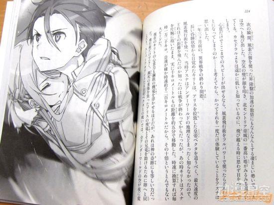 漫画《刀剑神域》小说第20卷发售 桐人夫妻大放恩爱闪光弹 动漫星空 第10张