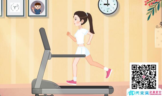 依:我运动的那么勤快,怎么体重不降反而增加了?!.jpg 冒个炮动漫设计制作《运动减肥怎么反而胖了》 冒个炮动漫设计