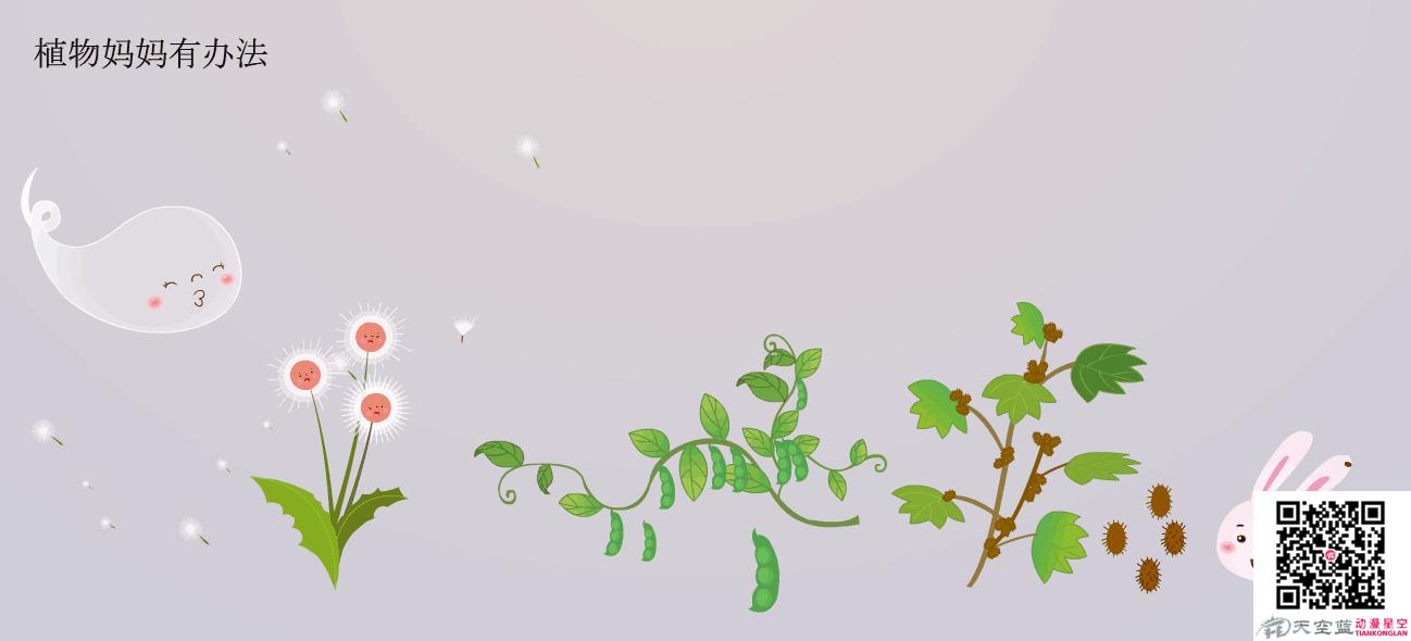 寓言故事动画制作《植物妈妈有办法》动漫教学视频