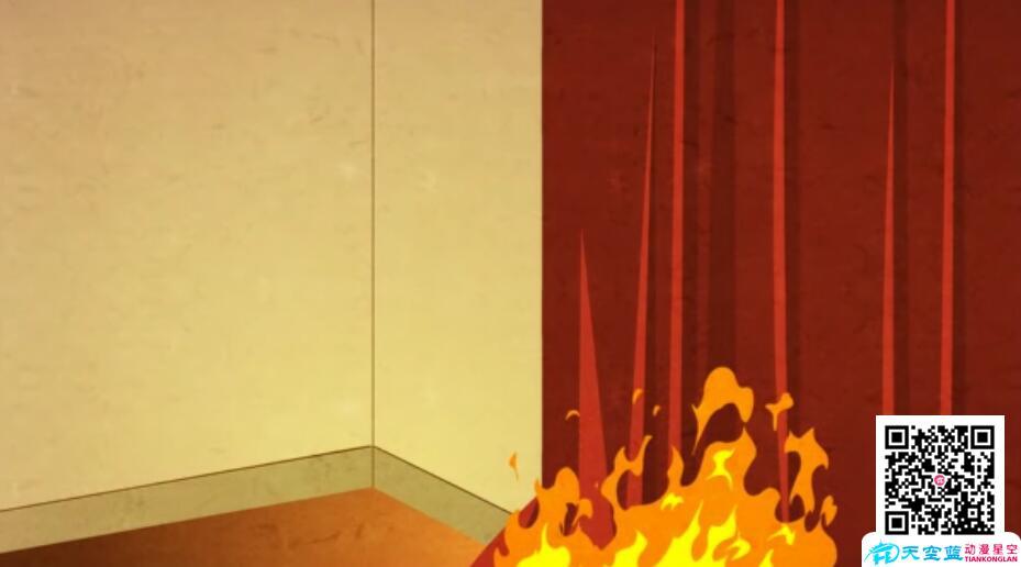 消防安全知识动漫创意视频 动画制作 第1张