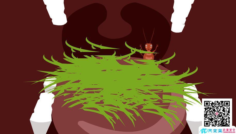 《在牛肚子里旅行》动漫教学视频 教学动画制作 第1张