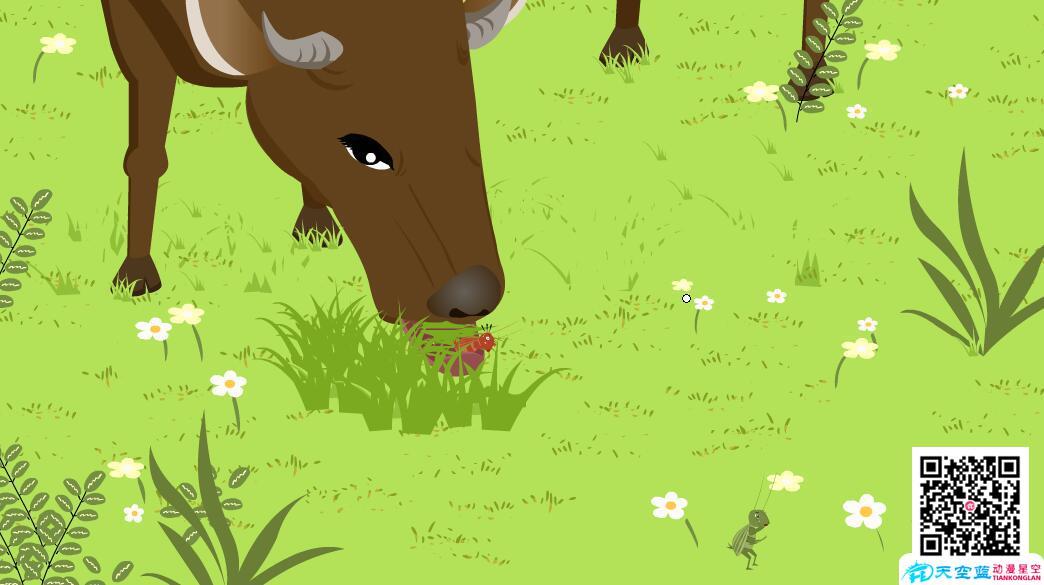 《在牛肚子里旅行》动漫教学视频 教学动画制作 第4张