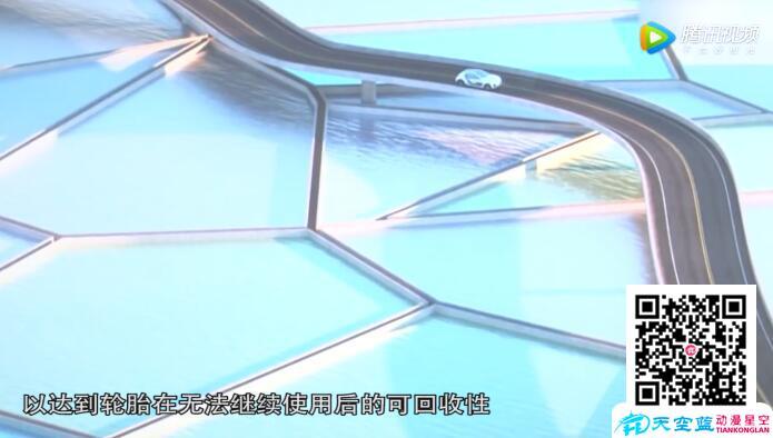 3d产品宣传动画展示《米其林轮胎宣传片》