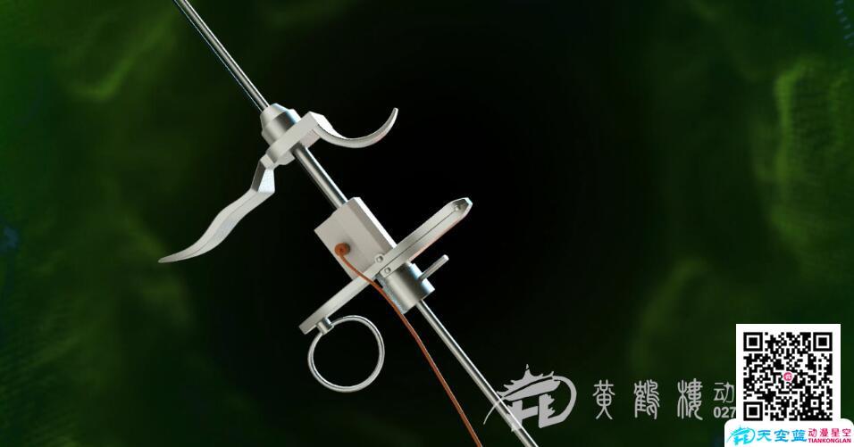 中南医院《微创经尿道前列腺等离子双极电切术》三维医疗手术演示动画制作