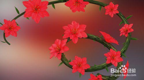 C4D怎么制作花朵开放的动画效果