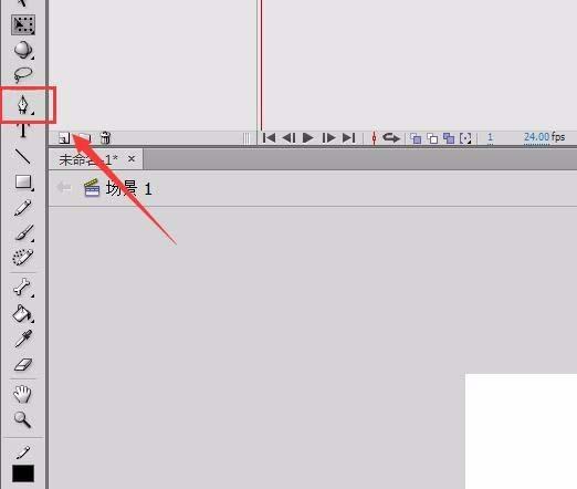 Flash动画制作软件怎么绘制美女剪影效果的图形? Flash动画制作 第2张