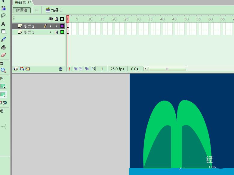 Flash动画制作软件怎么制作喷泉的动画效果? Flash动画制作 第5张