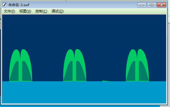 Flash动画制作软件怎么制作喷泉的动画效果? Flash动画制作 第8张