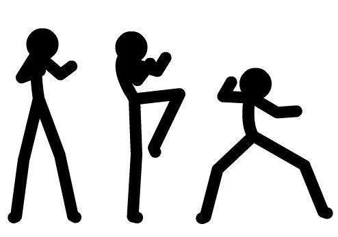 Flash格斗动画的动作创作过程