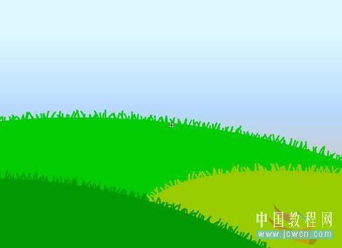 Flash动画制作软件新手鼠绘:漂亮的卡通花草场景 Flash动画制作 第5张