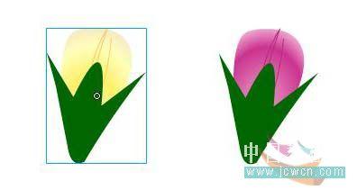 Flash动画制作软件新手鼠绘:漂亮的卡通花草场景 Flash动画制作 第13张