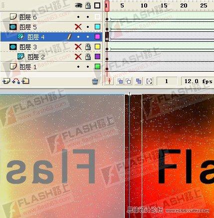 Flash制作好看的卷画效果动画,PS教程,思缘教程网