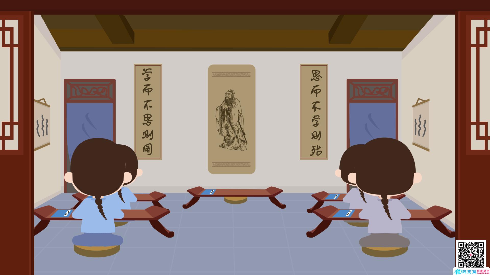 动画教学视频制作《村居》小学二年级动画学习片 教学动画制作 第4张