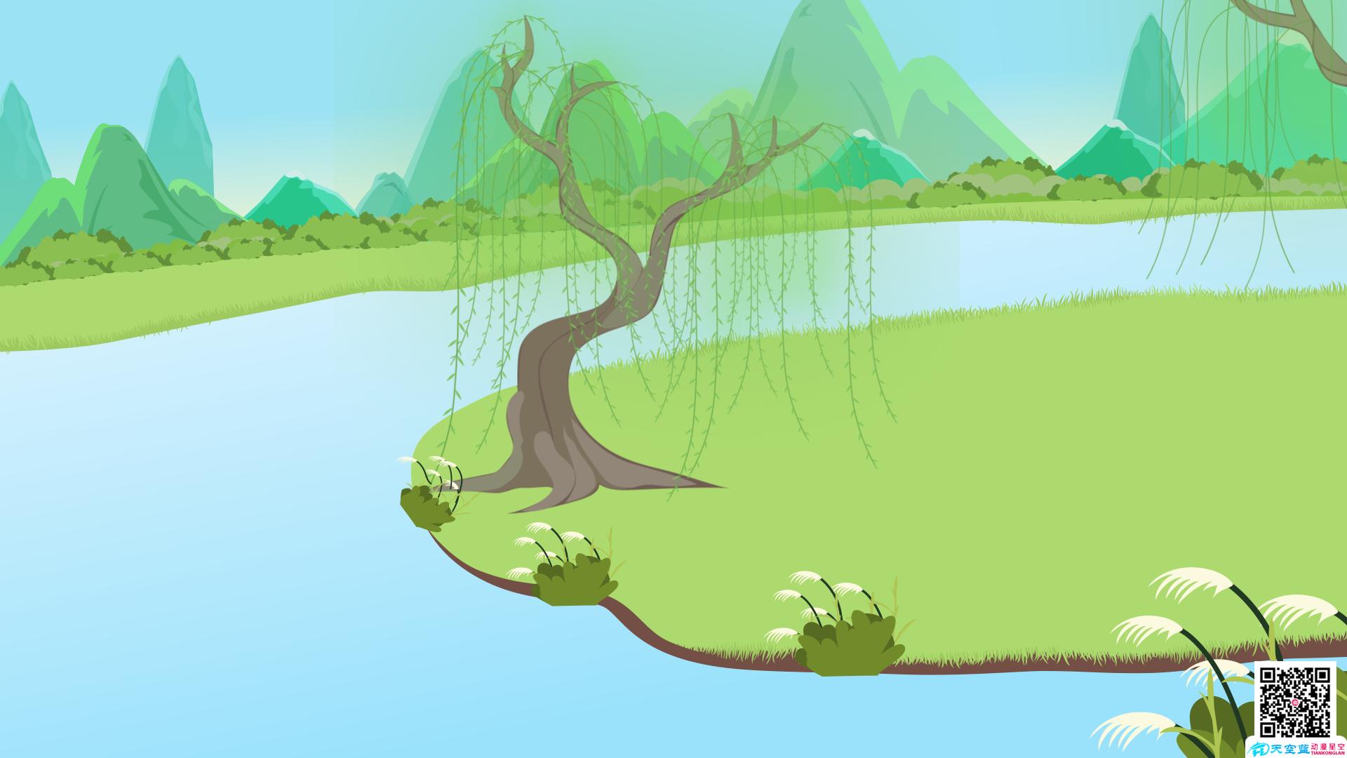 动画教学视频制作《村居》小学二年级动画学习片 教学动画制作 第5张