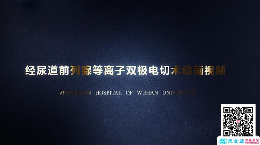 《微创经尿道前列腺等离子双极电切术》三维医疗手术演示动画视频