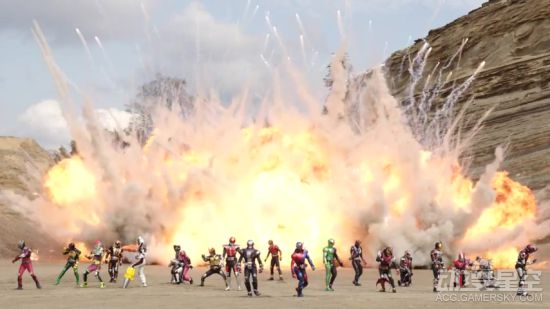 剧场版《假面骑士平成世代FOREVER》预告 全员登场战斗超燃