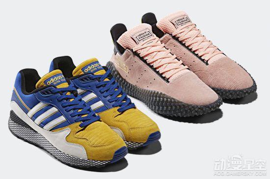 阿迪达斯《龙珠》新运动鞋上市 贝吉塔、布欧款帅飞 动漫星空 第2张