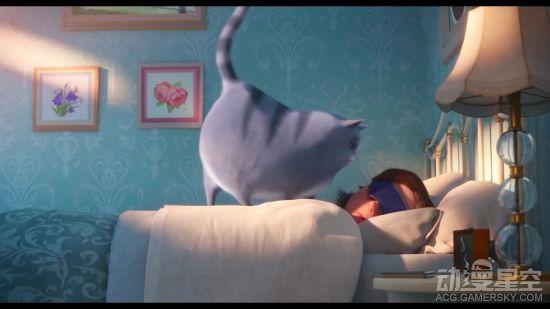 动画电影《爱宠大机密2》喵版预告 猫咪叫你起床有多辛苦