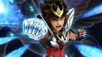 《圣斗士星矢》重制动画第二弹视觉图 星矢使出天马流星拳