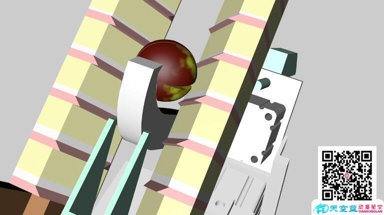 工业三维动画机械制作领域