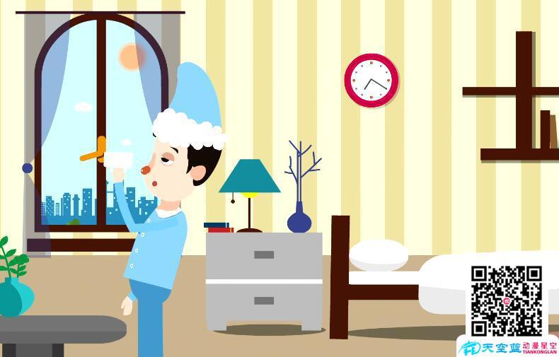 科普动画制作《心内科医生:早晨起床先喝两杯救命水!》健康知识动画宣传片