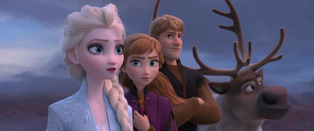 冰雪奇缘2预告观看1.1亿次破纪录,动画精致到头发丝,网友:不差钱