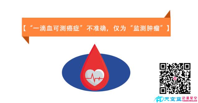 动画制作《一滴血可测癌症不准确,仅为监测肿瘤》健康医疗知识科普