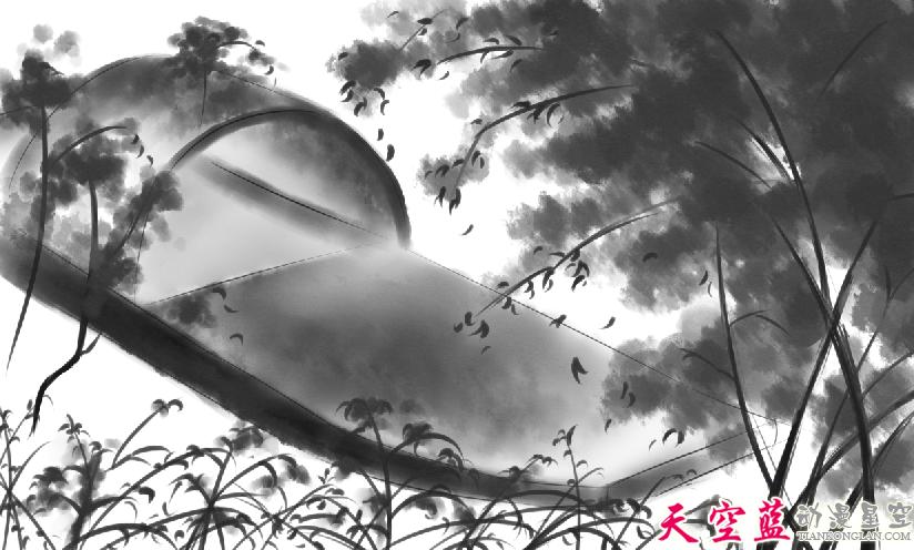 二维水墨动画故事片制作:汉阳民间传说《高山流水遇知音》
