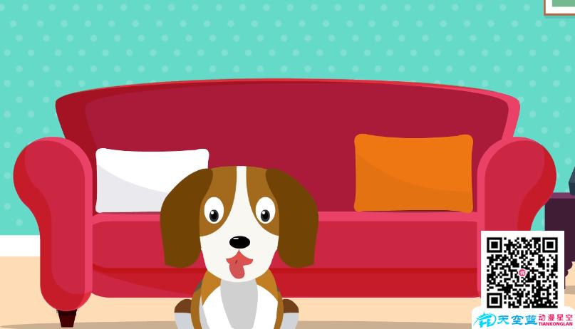 《小狗狗喜欢和胶水》动画制作