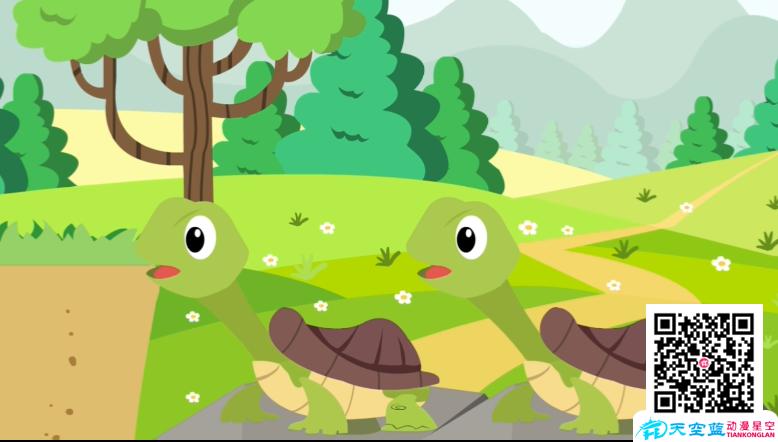 《乌龟抬头吃草》动画制作