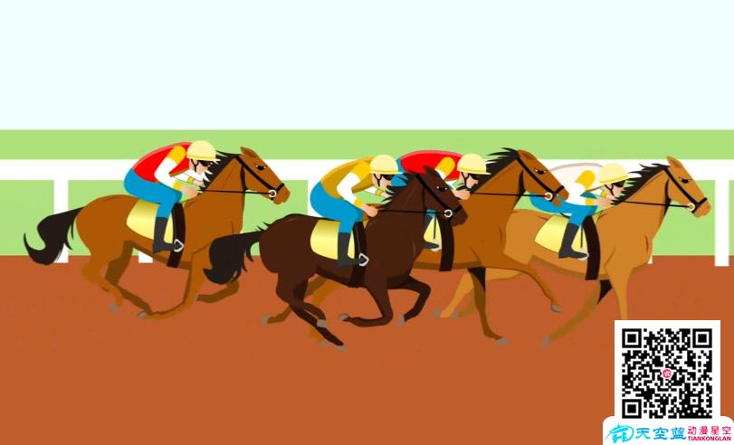 Flash动画制作《老赛马都在叹气》