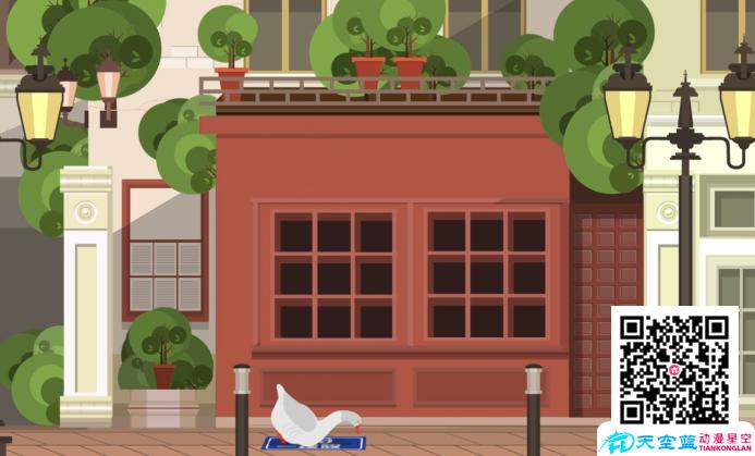 《鹅坠死的地址牌》动画制作