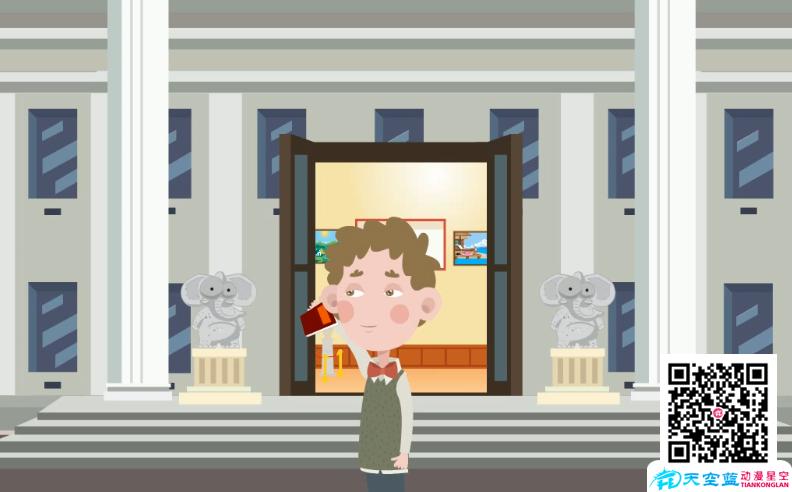 《经过博物馆忍不住瞄几眼》动画制作
