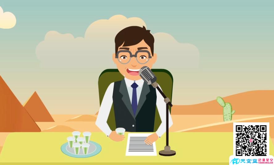 《广播时,不要渴死就要一直喝水》动画制作