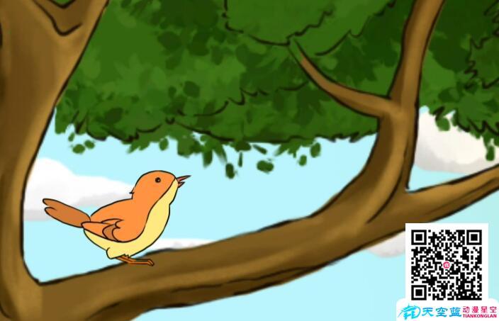 「追梦的鸟儿」抖音动画视频制作