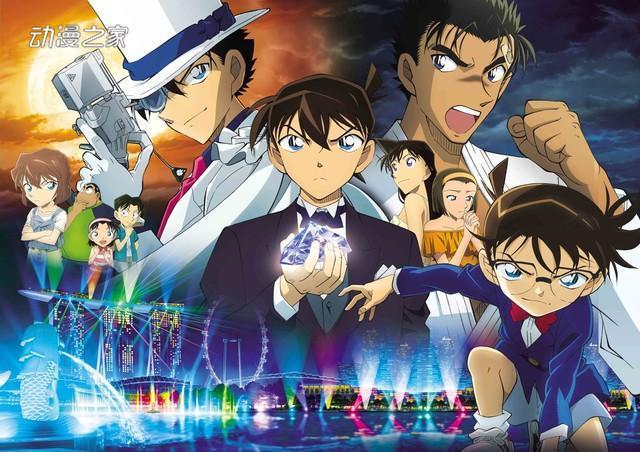3天近19亿日元!《柯南》新剧场版登日本周末票房榜榜首 动漫星空