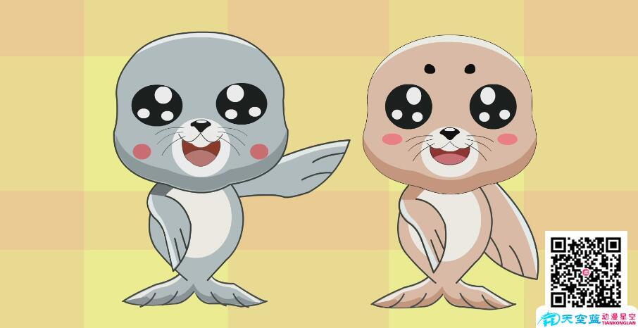 科普动画制作《海豹为什么甘心做个胖子呢?》