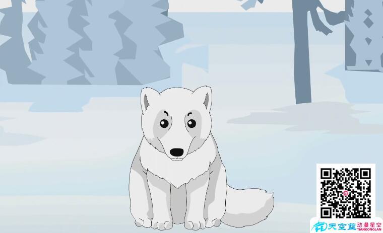 """科普动画制作《为什么北极狐喜欢""""换装""""》"""