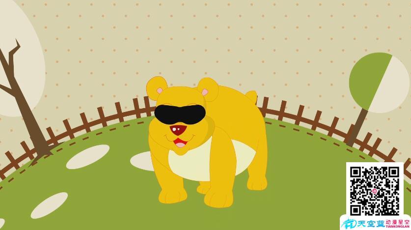 科普动画制作《为什么人们叫熊是熊瞎子?》