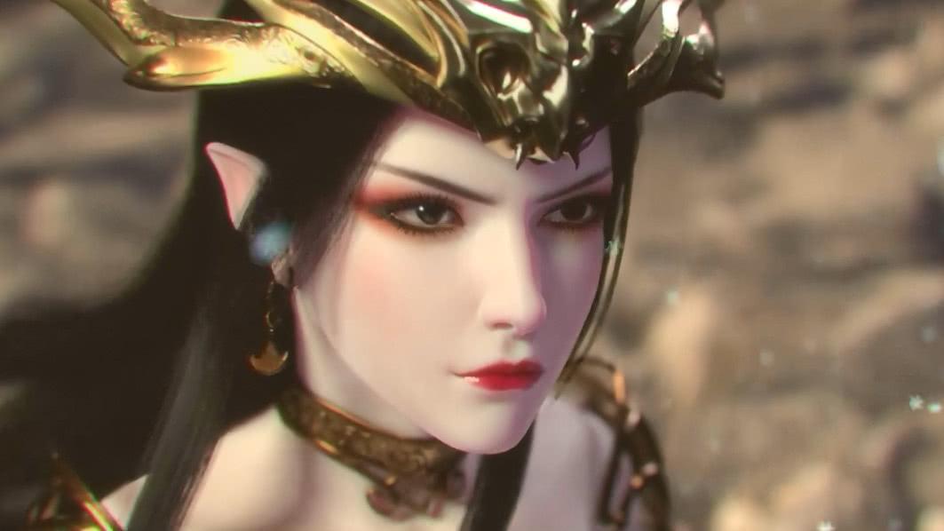 斗破苍穹:美杜莎也曾小白花过,但网友更爱她女王范!