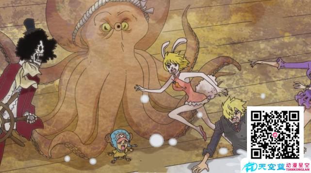 「动漫」海贼王:和之国再现神秘章鱼,比起小八,这只能力更加厉害