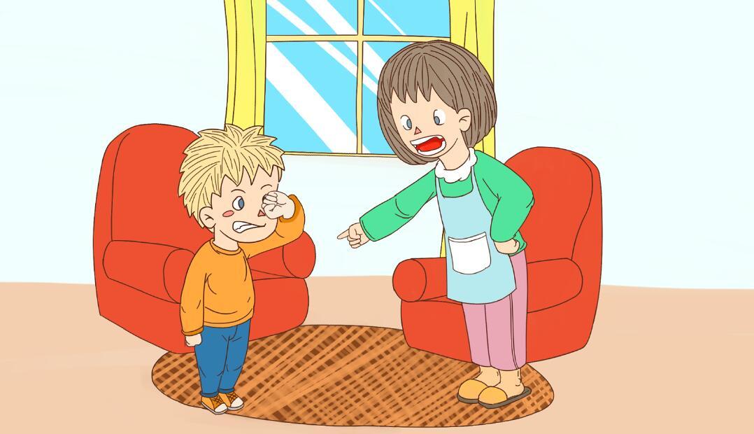 妈妈对家庭的强势有那些伤害?妈妈教育弟弟.jpg