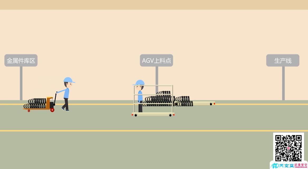 「MG动画」车间流水线演示还原动画制作