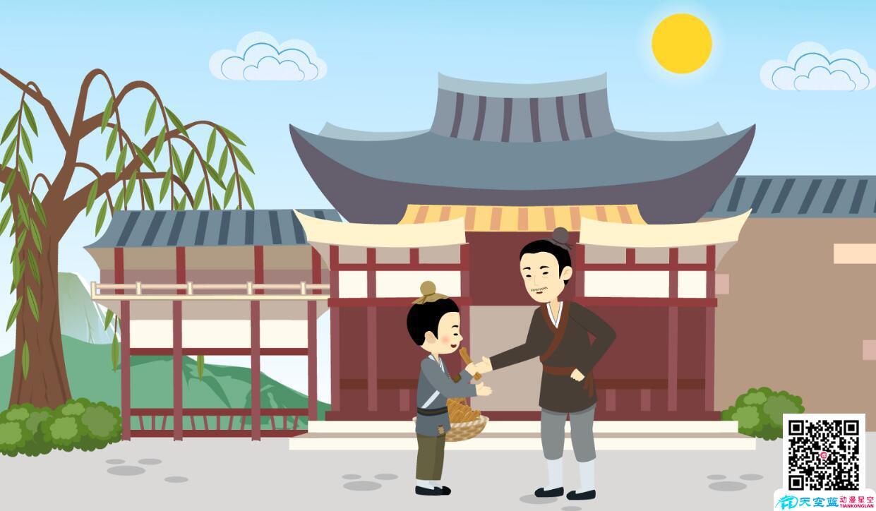 动漫设计制作「包公审石头」动画视频分镜头.jpg