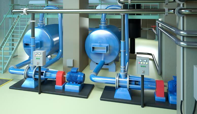 「动画制作」三维工业机械仿真车间布局还原