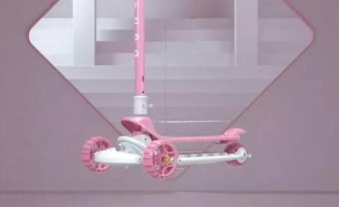 C4D产品动画设计,滑板车的仿真还原展示